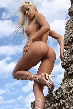 Nude Terri Outdoors