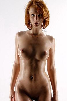 Oiled Redhead Clelia