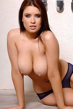 Kelly Andrews See Thru Bikini